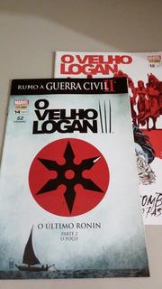 Duas Hq Marvel O Velho Logan - Ed 12 E 14