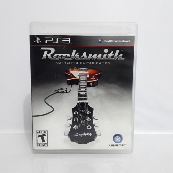 Jogo Rocksmith Ps3 Playstation Americano Original Raro!!!