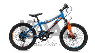 Bicicleta Mountain Bike Raleigh Rowdy Rodado 20 Aluminio