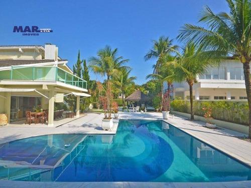 Casa Com 5 Dormitórios, 500 M² - Venda Por R$ 2.800.000,00 Ou Aluguel Por R$ 0,01 - Acapulco - Guarujá/sp - Ca0700