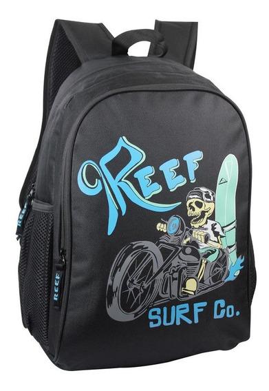 Mochila Escolar Deportivo Urbana Reef Origina!! Rf-613 17,5´