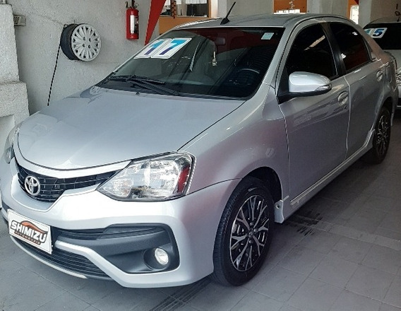 Toyota Etios Sedan Platinum 1.5 (flex) (aut) Flex Automáti