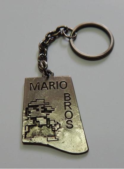 Super Mario Bros Dije Llavero Pixel
