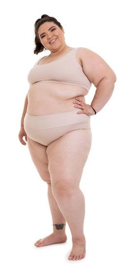 Calcinha Tanga Plus Size Wonder Size Nude
