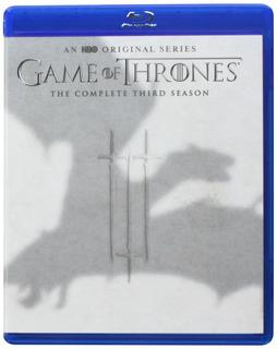 Blu-ray : Game Of Thrones: Season 3 (boxed Set)