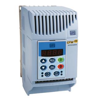Inversor De Frequencia Cfw08 0,5cv 1,6a 380/440v Trifasico