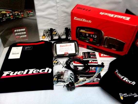 Fueltech Ft450 Com Adaptador Chicote Ft250 A Ft400 + Brindes