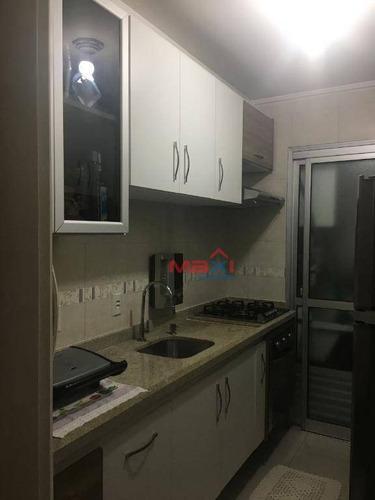 Apartamento 2 Dormitórios À Venda No Condomínio Portugal, 50 M² Por R$ 350.000 - Vila Lageado - São Paulo/sp - Ap0808