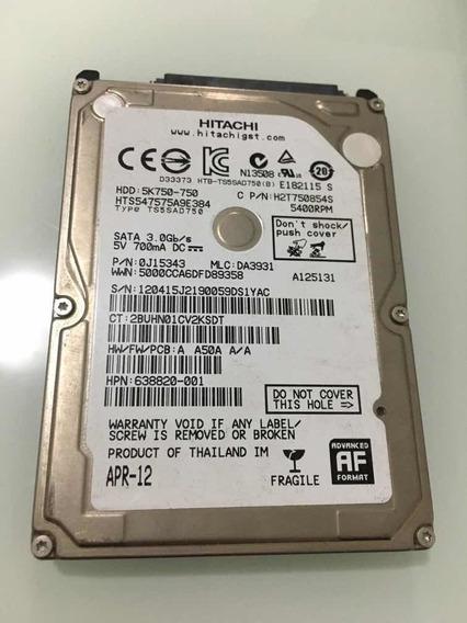 Placa Lógica Do D Hitachi Hdd: 5k750-750 Sata 3.0 Gb
