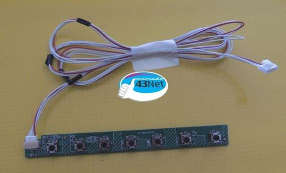 Teclado De Funções Tv Philco Ph58e30dsg 40-l48e50-kea2xg