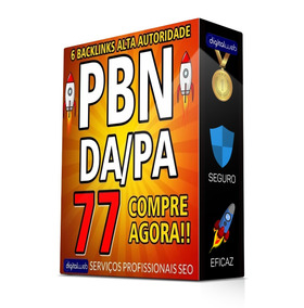 Comprar Backlinks Pbn Alto Pa/da 77 Dofollow Permanente Seo