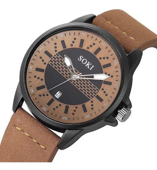 Reloj Hombre Caballero Militar Sport Navy Seal 4 Colores