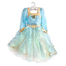 Fantasia Princesa Merida Valente Disney Store Deluxe 5-6t!!