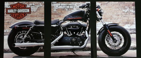 Kit De Placas Decorativas Harley