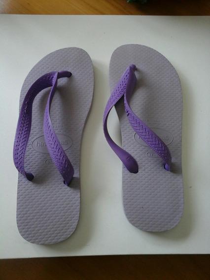 Ojotas Havaianas Violetas 37-38