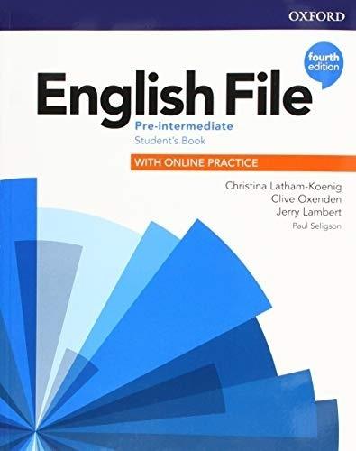 English File Pre-intermediate 4th.edition - Student