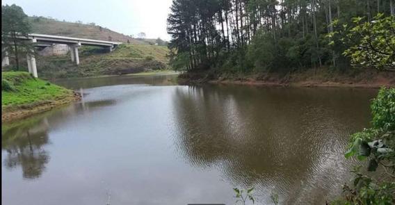 (ra) Imóvel Pé Na Água Com Bosque E Acesso A Represa