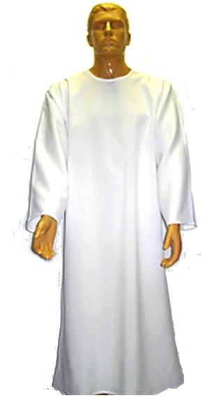 06 Und. Capa Beca, Tunica Bata Para Batismo Pronta Entrega
