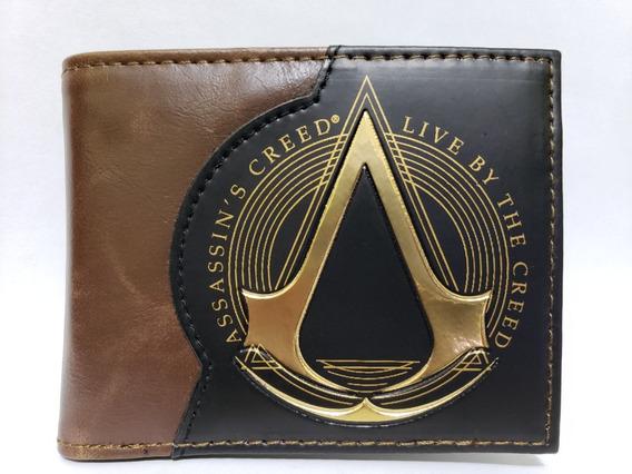 Cartera Assassins Creed Origins Billetera Ezio Envío Gratis
