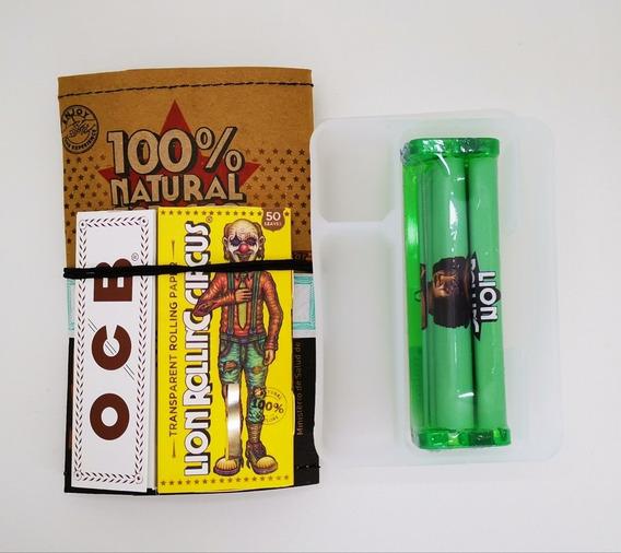 Tabaco Lion Tabaquera Celulosa Ocb Máquina Para Armar Cigarr