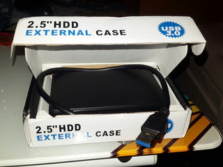 Rack Cabinete Case Disco Duro Laptop A Usb 3.0 2terab