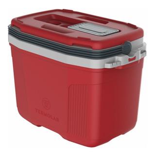 Caixa Térmica Para 45 Latas 32 Litros Termolar Vermelho