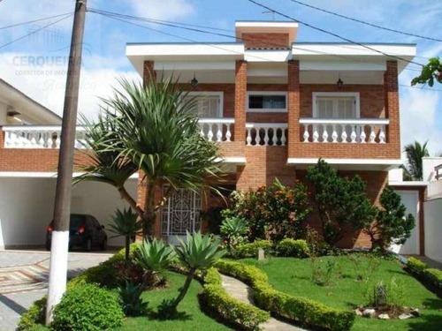 Casa Residencial Para Locação, Acapulco, Guarujá. - Ca0381