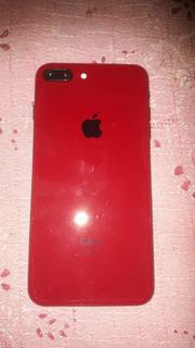 Celular iPhone 8plus Red 64 Gigas Semi Novo, 4 Meses De Uso