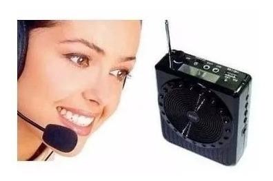 Megaphone Speaker - Multi-function - Rádio Fm - Usb