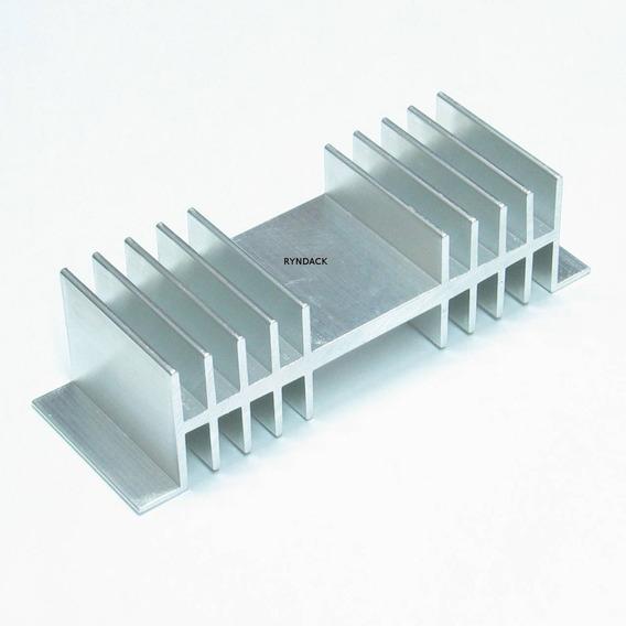 2 Peças * Dissipador De Alumínio Fnt010-b 40mm