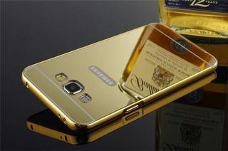 Capa Do Galaxy J7 Dourada Lançamento.