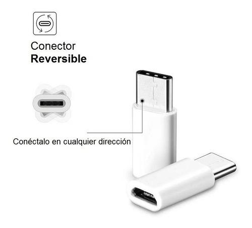 Adaptador Micro Usb - A Hembra = A Usb - C Tipo C Macho