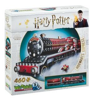 Harry Potter Puzzle 3d 460 Pçs Expresso De Hogwarts