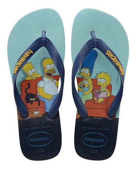 Havaianas Simpsons - Azul