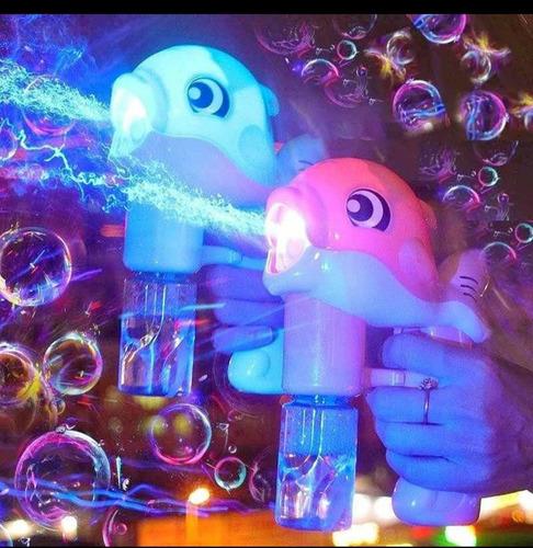 Pistola De Burbujas Modelo Ballena - Juguete De Burbujas