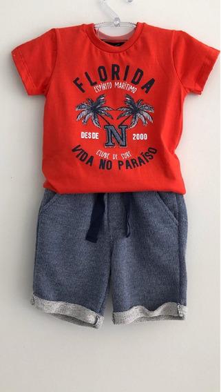Conjunto Infantil Menino Ninibambini Tam 1