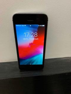 iPhone SE 32 Gb; N.f. Único Dono. Leia.