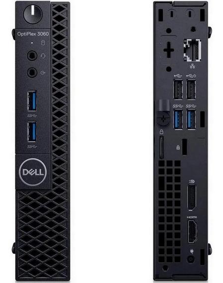 Pc Dell Optiplex 3060 Mini Core I3 8100t 4gb Ddr4 Hd 500gb