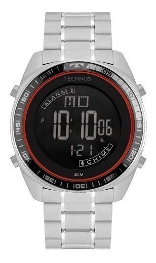 Relógio Technos Masculino Racer Prata Bj3373ab/1p