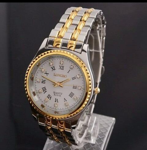 Reloj Longbo Elegante De Hombre Nuevo