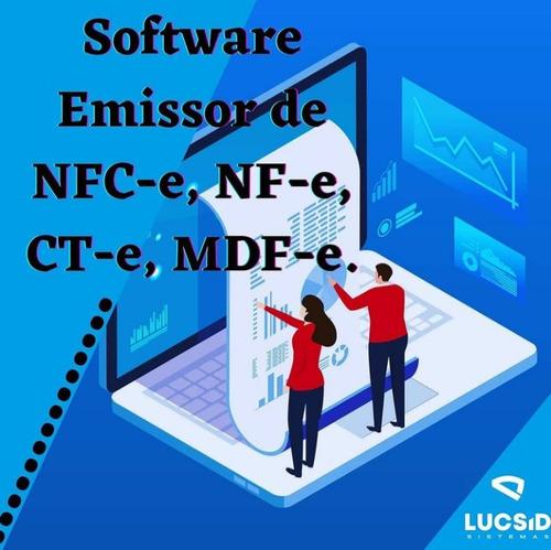 Imagem 1 de 5 de Software De Gestao ( Nf-e, Nfc-e)