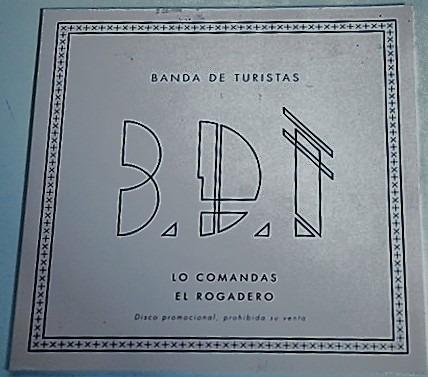 Cd Nuevosellado Banda De Turistas - Lo Comandas Promo Oferta