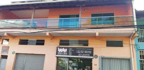 Imagem 1 de 14 de Linda Casa  Tres Quartos Com Lojas  E Terraço,