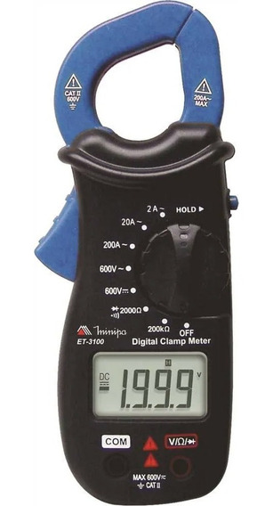 Alicate Amperímetro Digital - Et-3100 Minipa