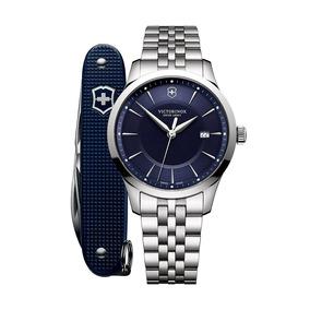 Relógio Victorinox 241802.1 Alliance 40 Prata Original