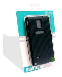 Funda Alcatel 6030 Idol Uso Rudo Citric Negro