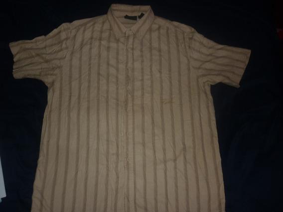E Camisa Dickies Marron Claro Talle Xl Art 97113
