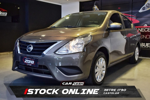 Nissan Versa Sense Mt Pure Drive F2 1.6 2018 Car Cash
