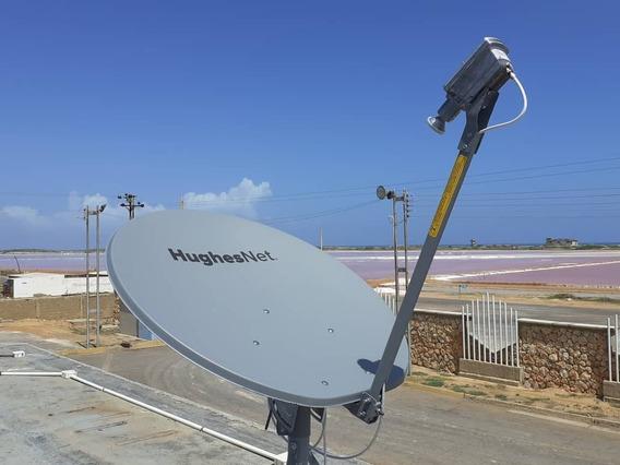Internet Satelital 100% Veloz Y Confiable Somos Empresa!