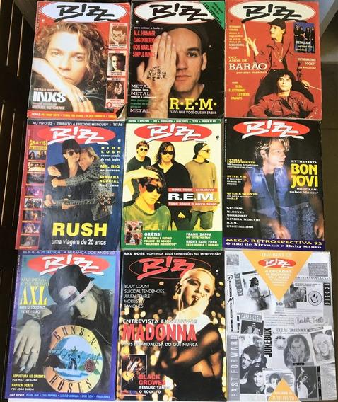 Revista Bizz - Showbizz Coleção 1992-1998 Em Perfeito Estado